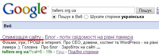 Пошукова оптимізація сайту, оптимізація сайтів, розкрутка сайтів
