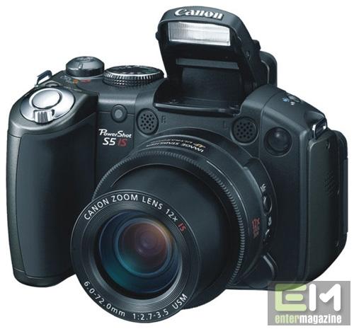 фотоапарат Canon PowerShot S5 IS