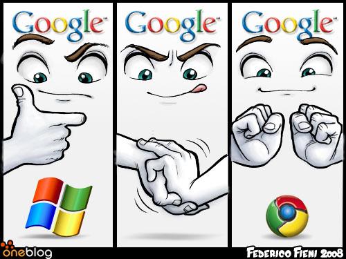 створення логотипу браузера Google Chrome