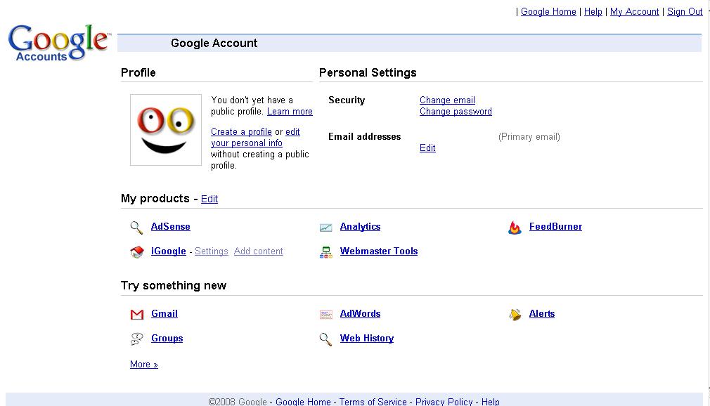 Google оновить вигляд акаунту?