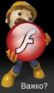 Як правильно вставити Flash-код у HTML?
