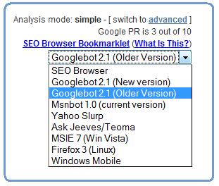 Сайт очима Googlebot-а. SEO-Browser